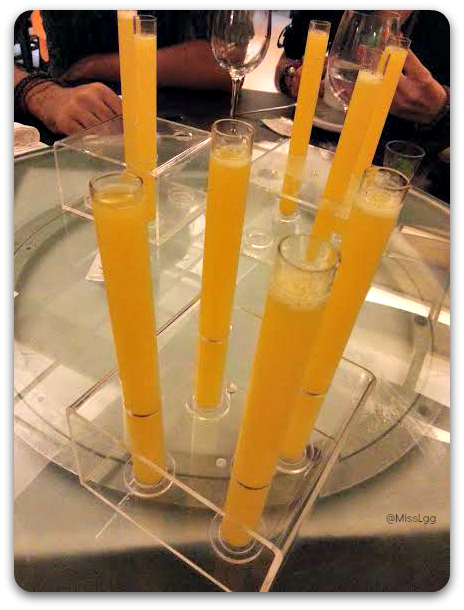 Zumitos de regalo Restaurante Chino Mey-Mey Valencia