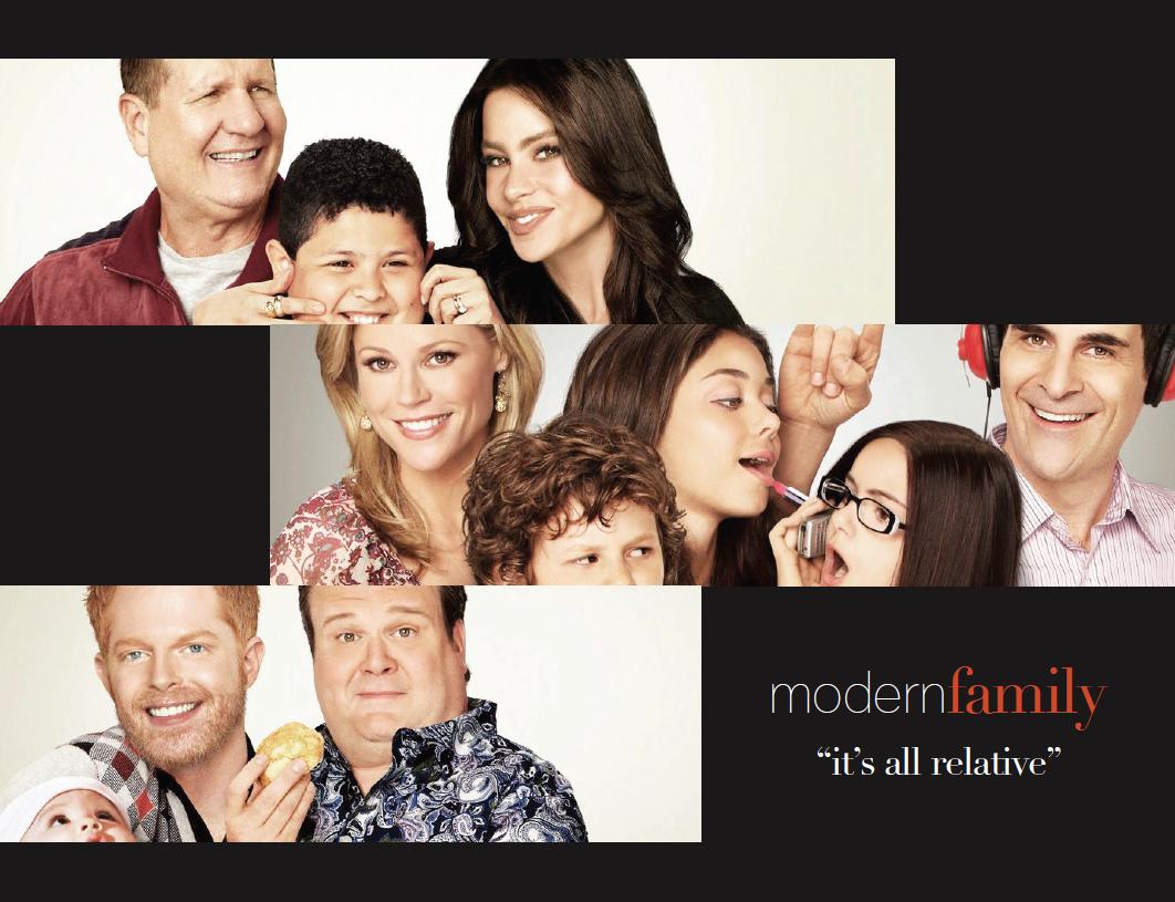 i, write, riot: Modern Family