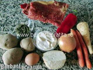 Ciorba de afumatura cu cartofi ingrediente reteta