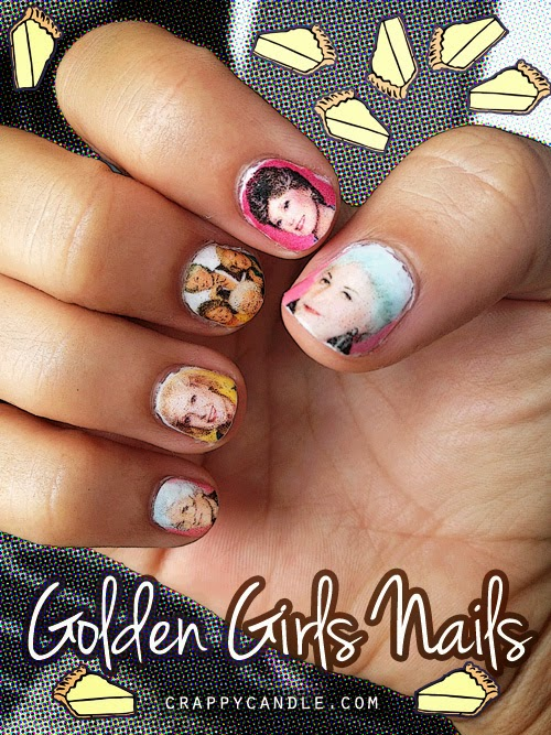 Golden Girls Nails | Crappy Candle
