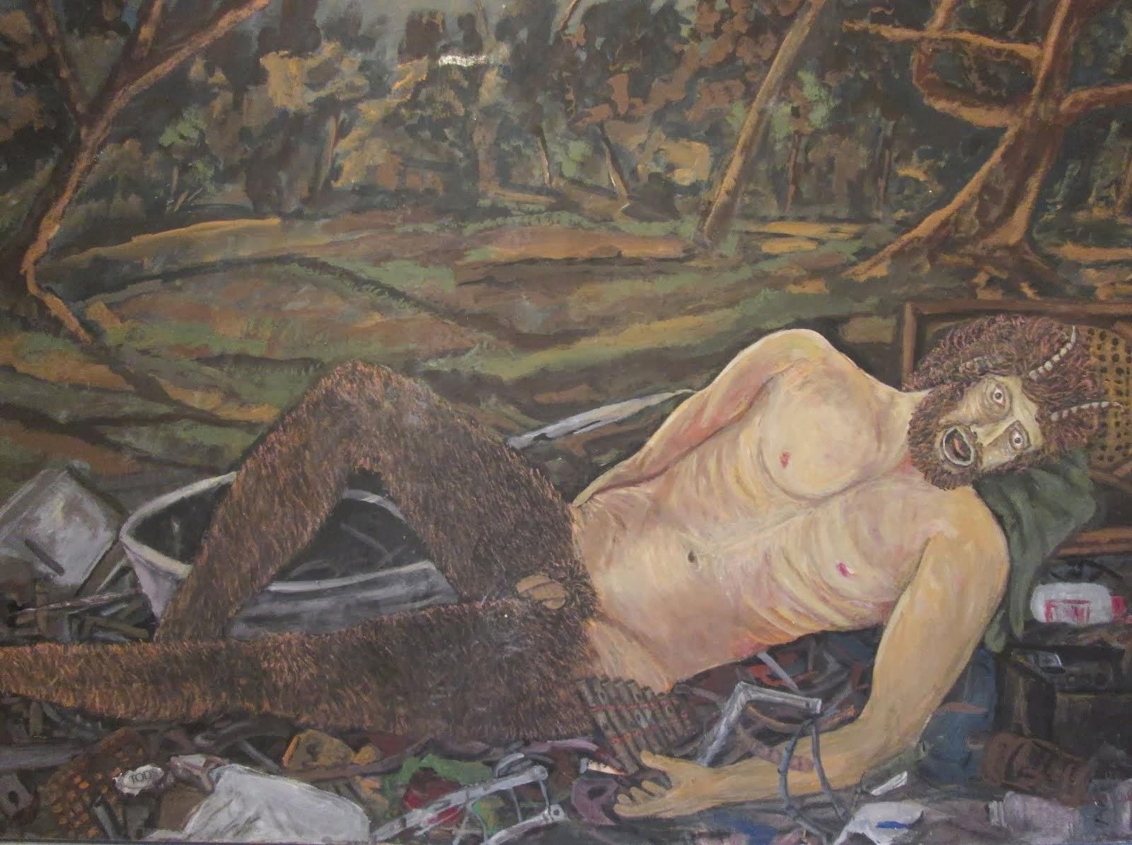 La morte per inquinamento di Pan dio dei boschi