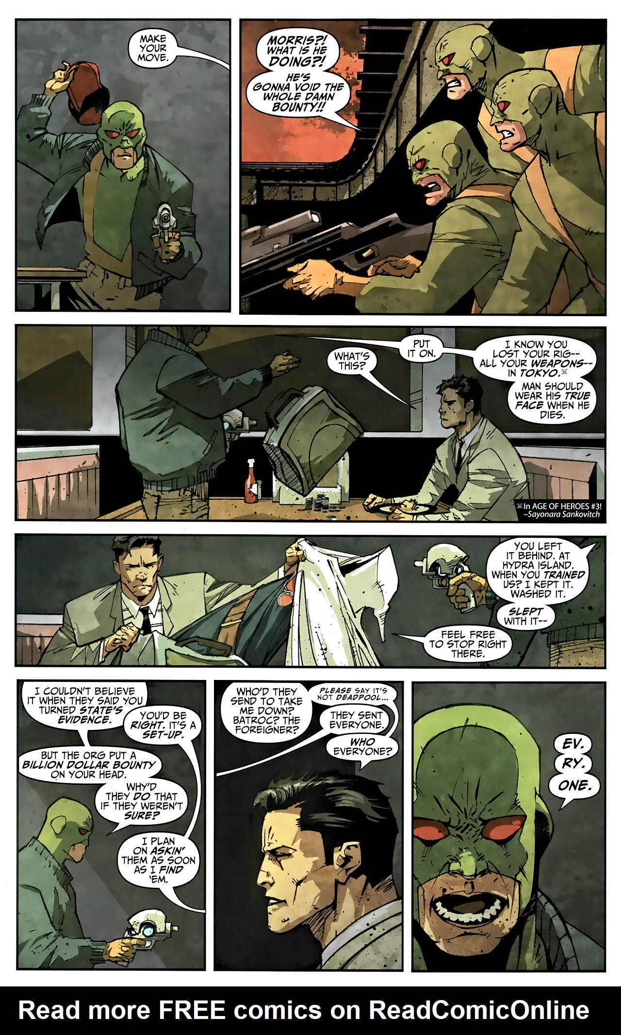 Read online Taskmaster (2010) comic -  Issue #1 - 7