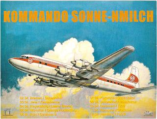 Kommando Sonne-Nmilch Tour Postkarte