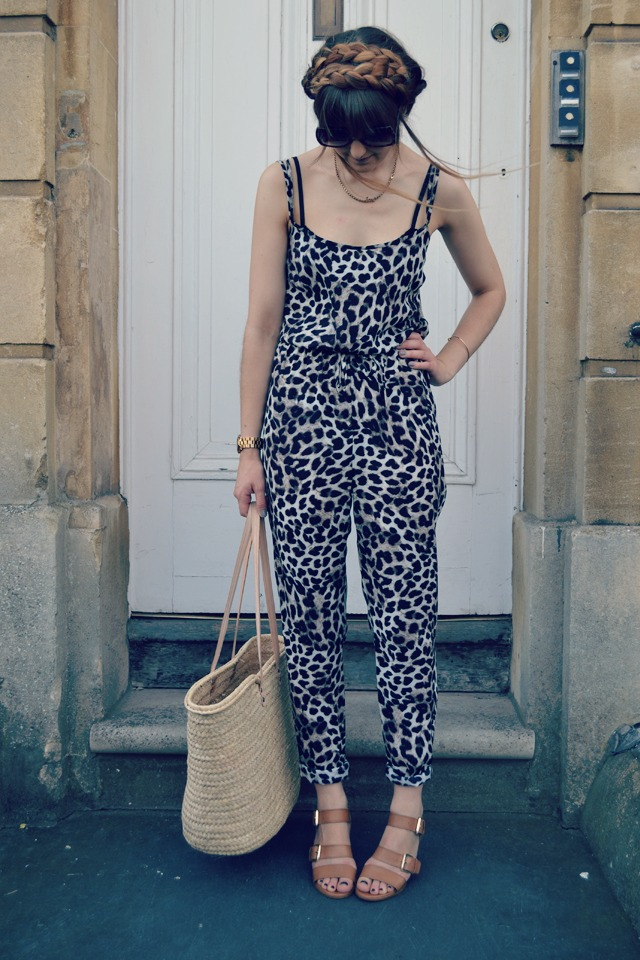 asda leopard print jumpsuit carvela sandals