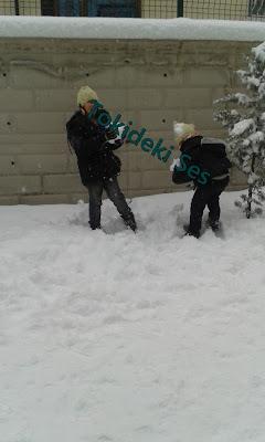 Kardan baba ve kar topu savaşı