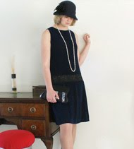 1920s inpired dress