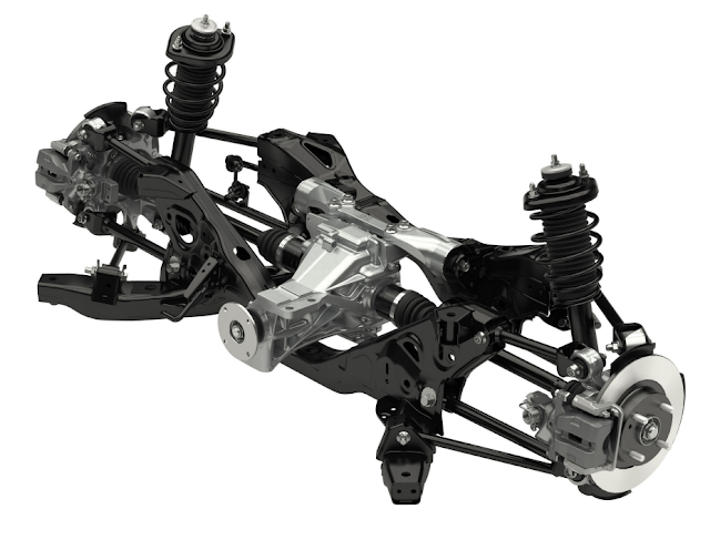 Mazda MX-5 Roadster ND Rear Suspension
