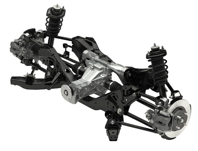 Mazda MX-5 Roadster ND Rear Suspension