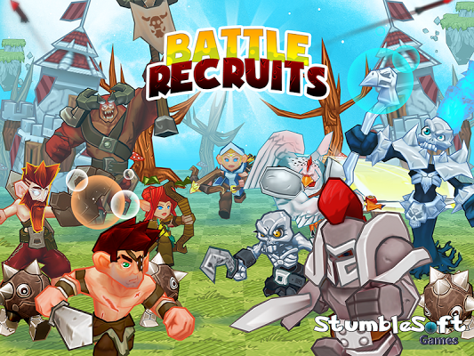 Battle Recruits Gameplay IOS / Android