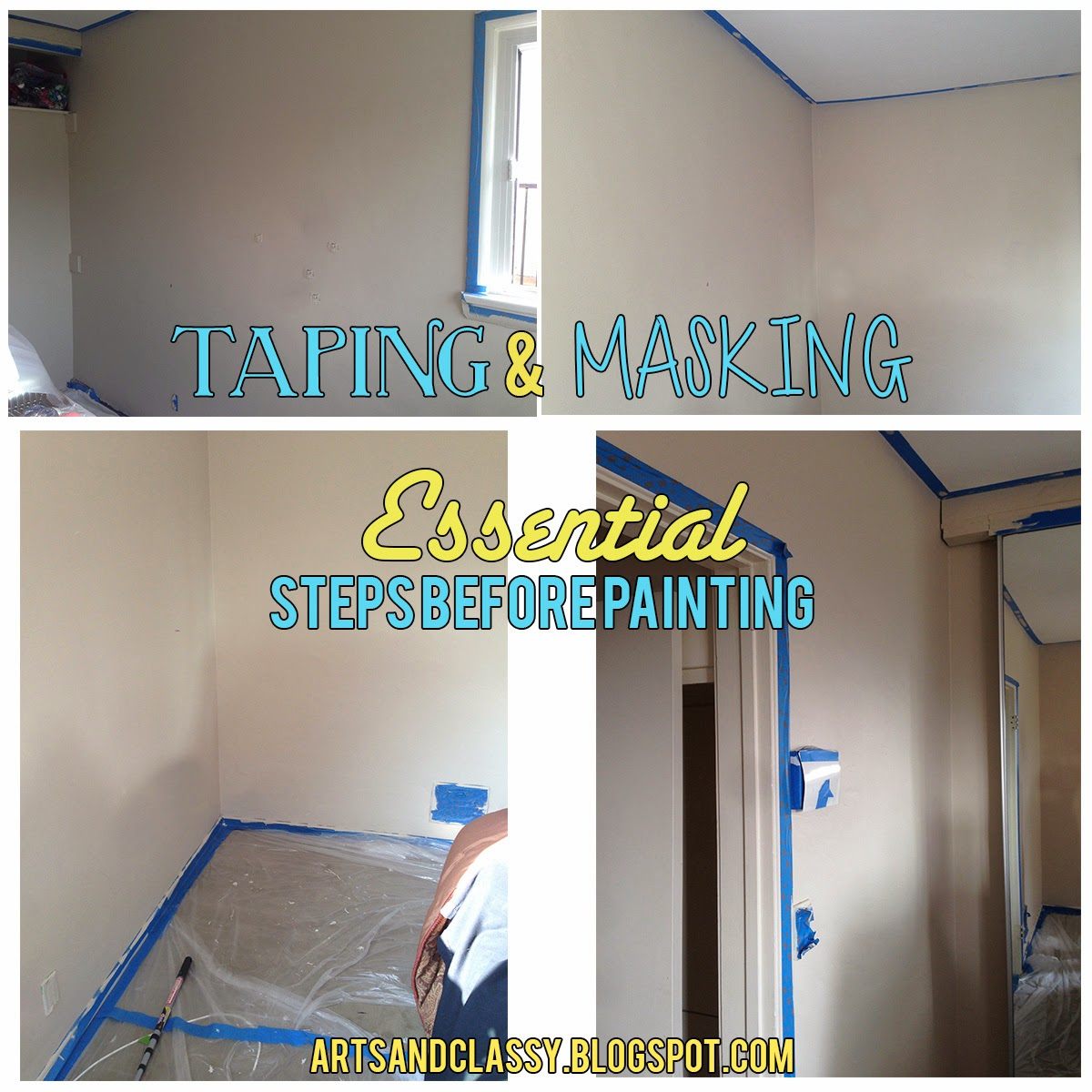 Next you will start painting with one color you chose I started with  Valspar s high. Parents Room Color