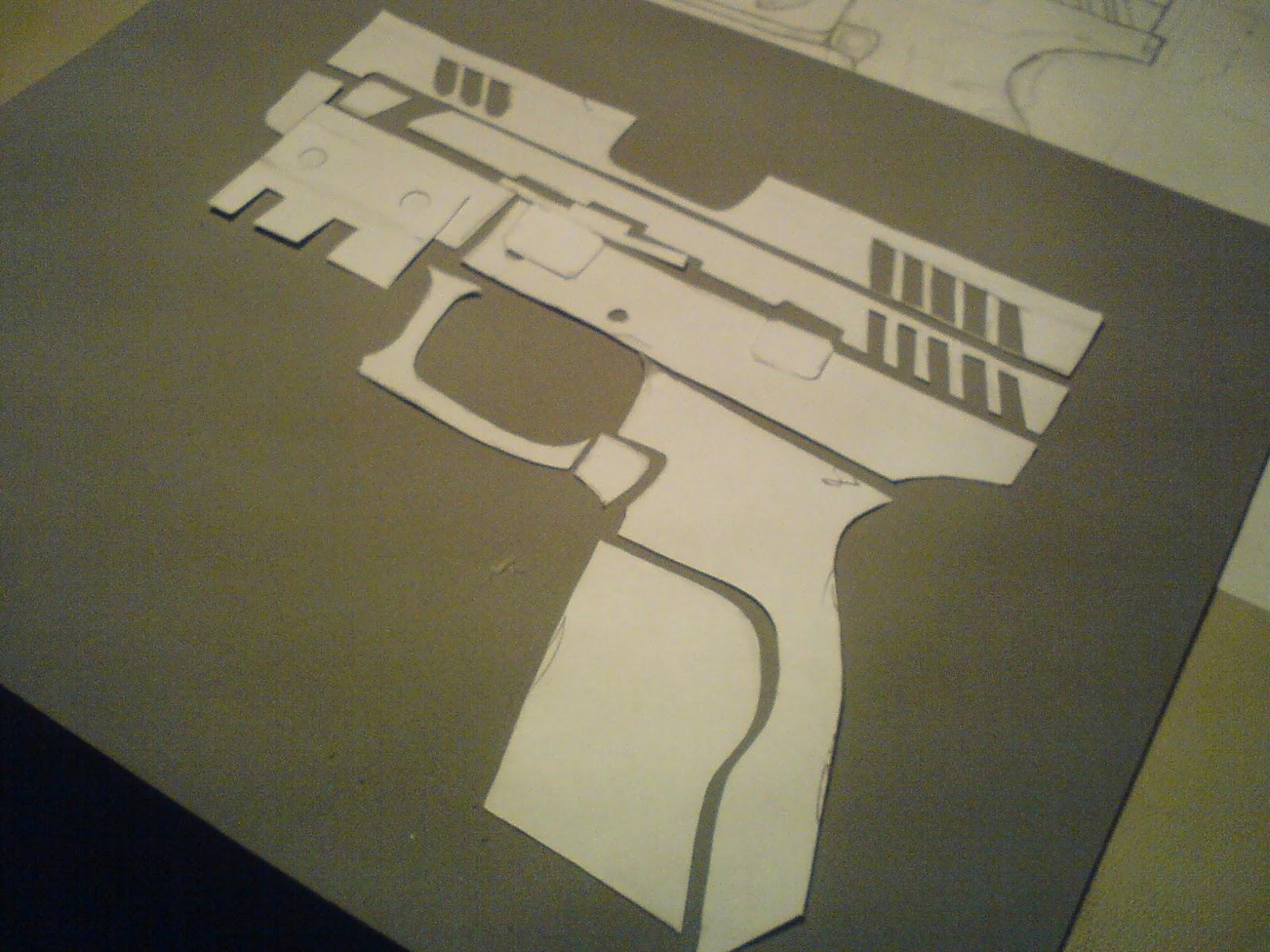 Pistola Blacktail - Resident Evil DSC04444