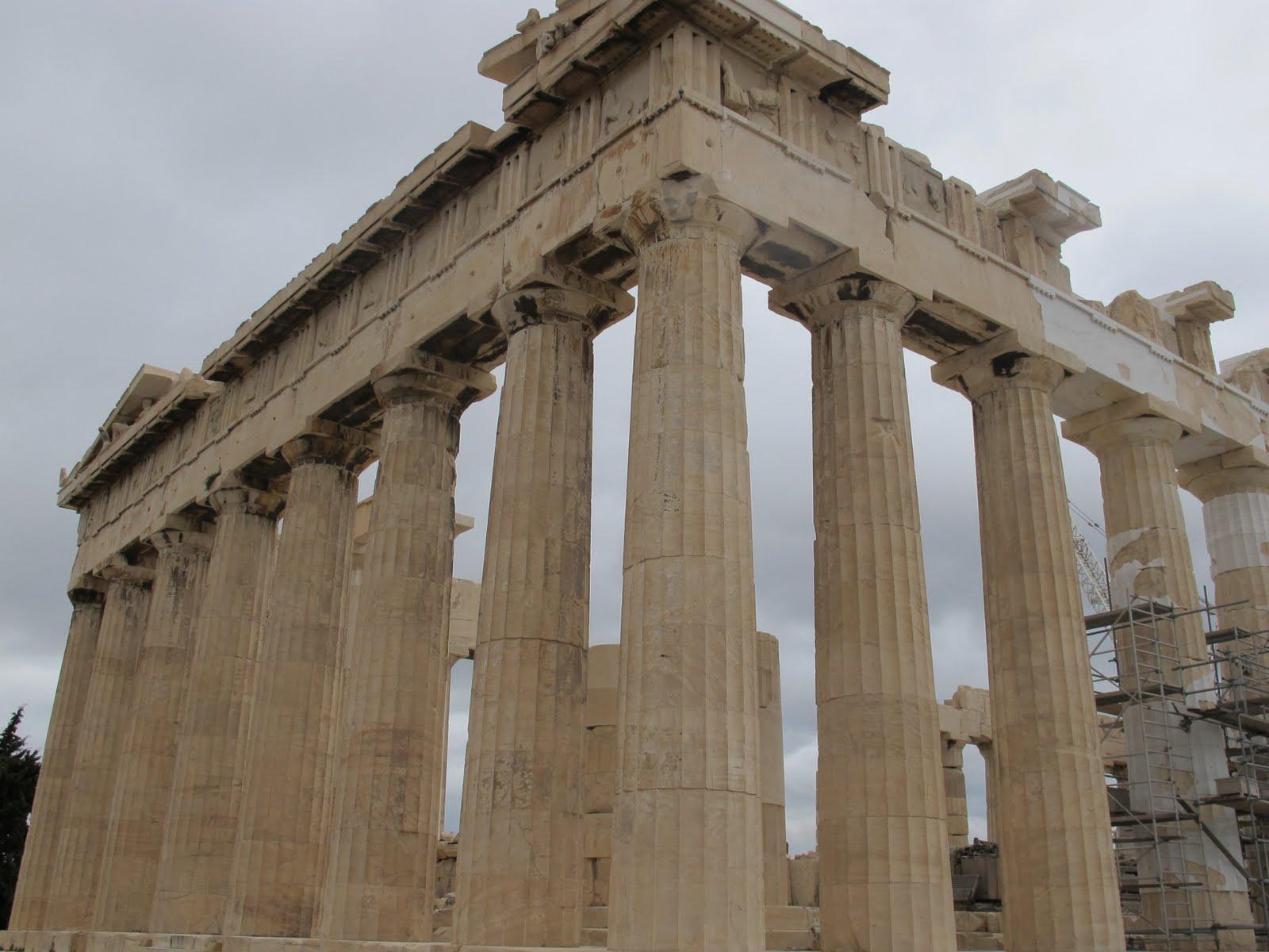 Stood Inside The Parthenon The Parthenon Was Built To Honor Athena