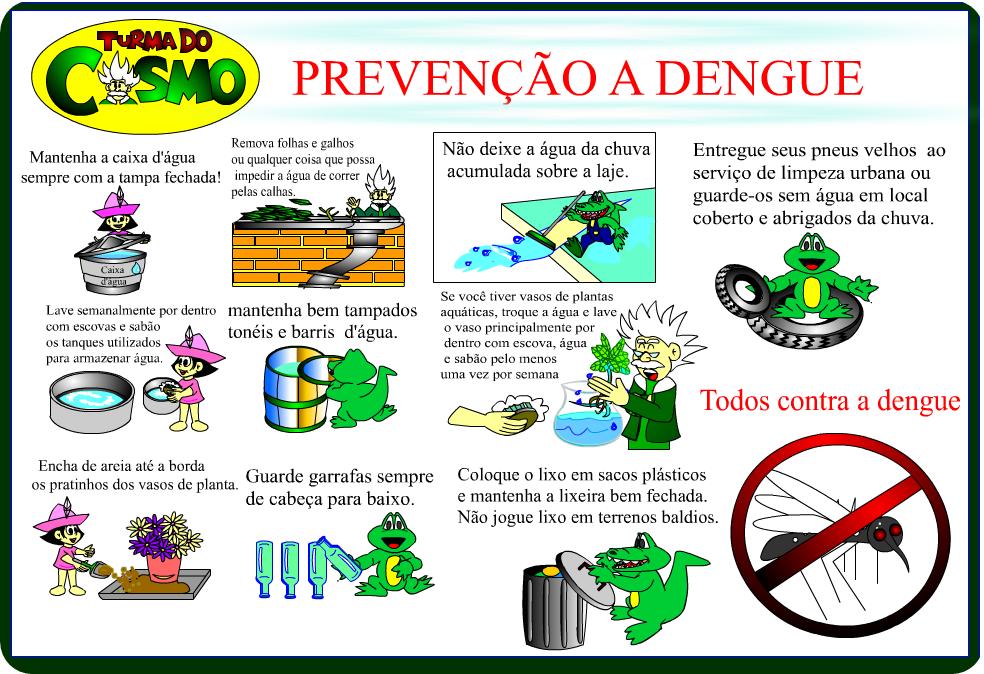 Turma Do Cosmo Em Combate A Dengue