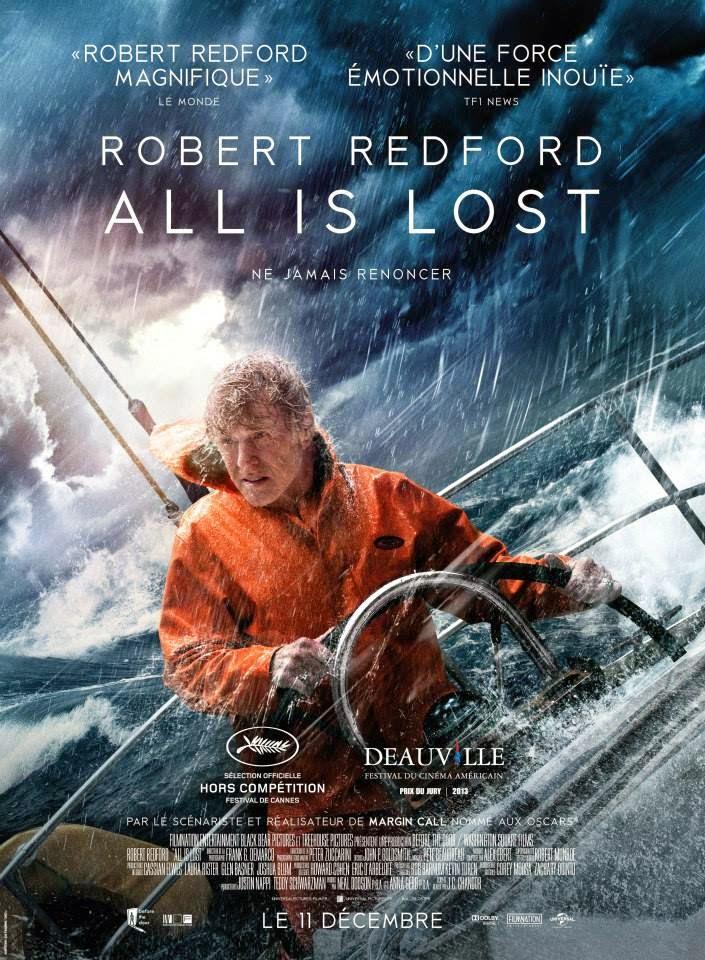 Redford sur un bateau