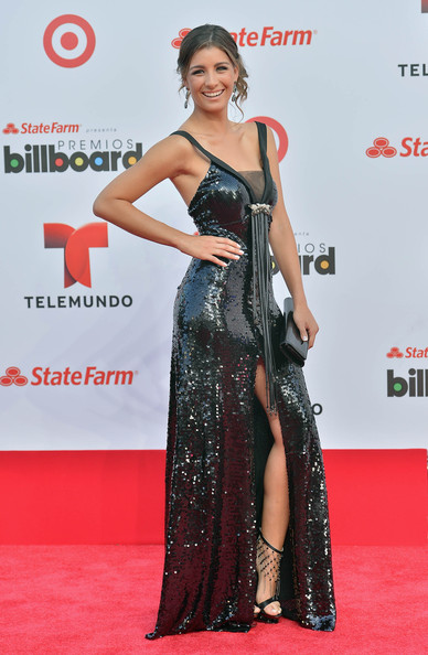 Who Wore What The Latin Billboard Awards 2013 Red