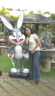 with Bugs Bunny at Baker's Hill