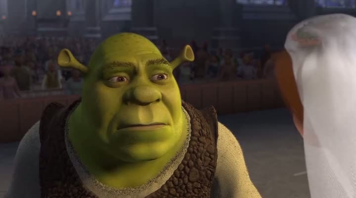 Screen Shot Of Shrek (2001) Dual Audio Movie 300MB small Size PC Movie