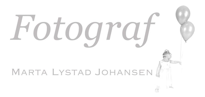 Fotograf Marta Lystad Johansen