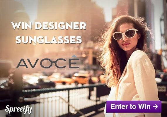 Avocê Designer Sunglasses Giveaway