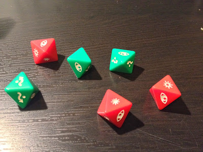 Star Wars X-Wing Miniatures Game Dice
