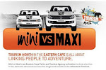 Mini vs Maxi Adventure Across the Eastern Cape 2011