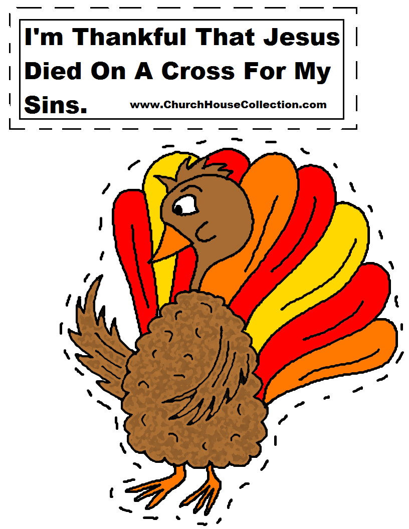 Church house collection blog i 39 m thankful that jesus died for Thanksgiving crafts for kids church