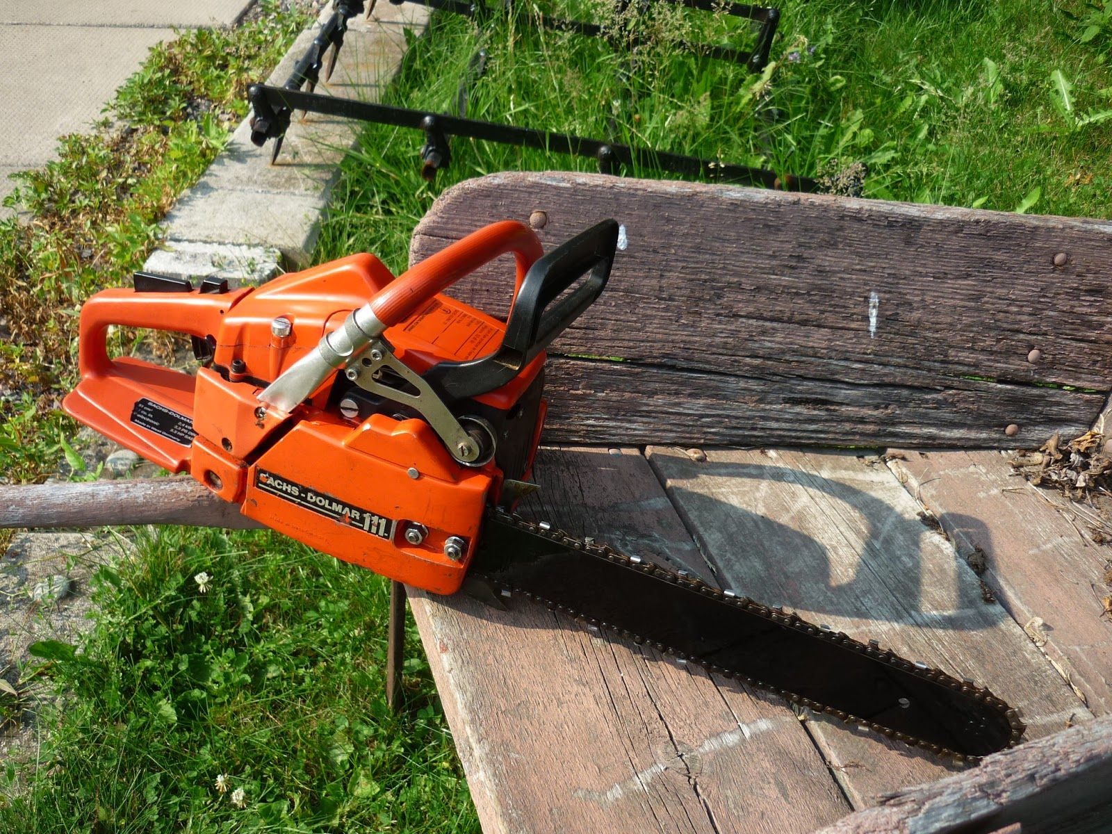 Vintage Chainsaw Collection Dolmar 111 Early 1987 Version