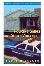 Front Cover of Policing Gangs book