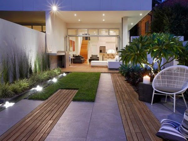 C mo crear un jard n minimalista guia de jardin for Diseno de jardin grande