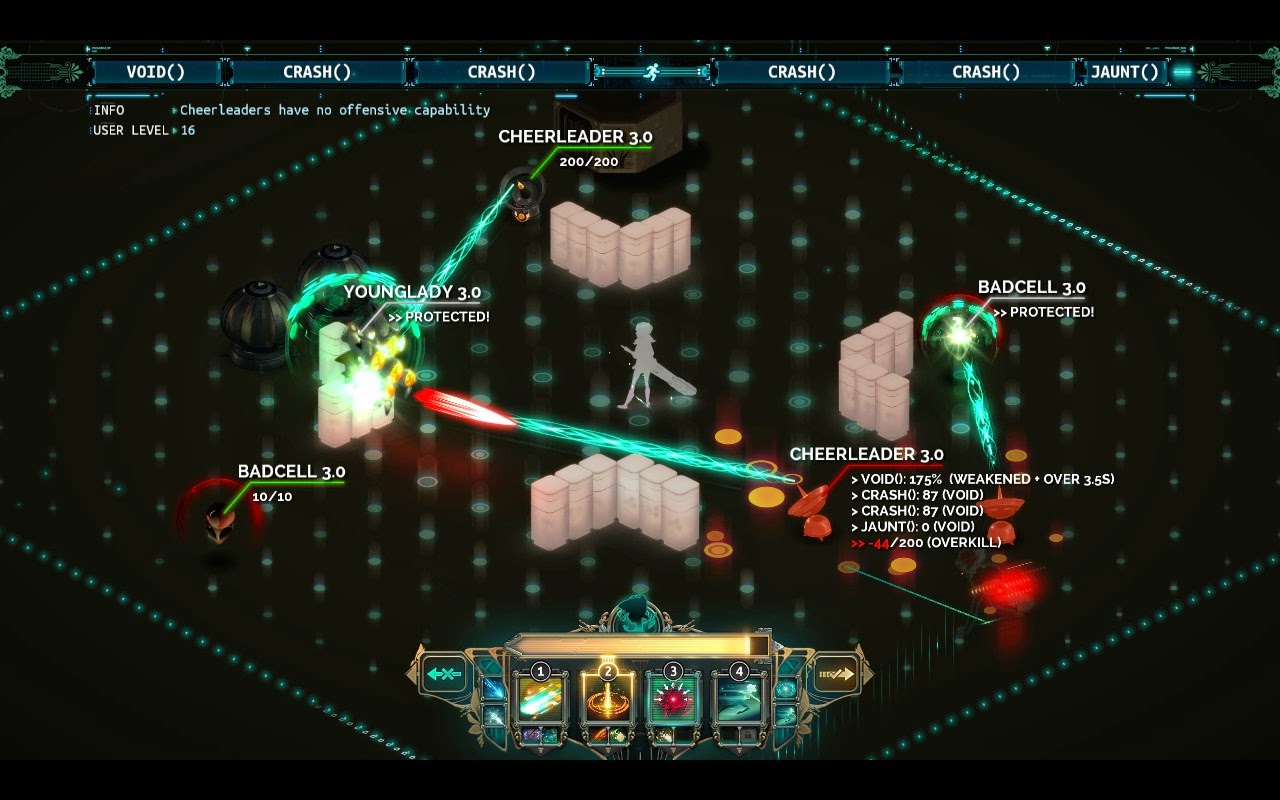 Transistor Battle Screen Turn()