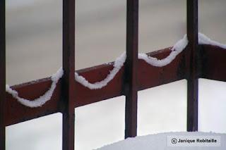 photo artistique hiver neige