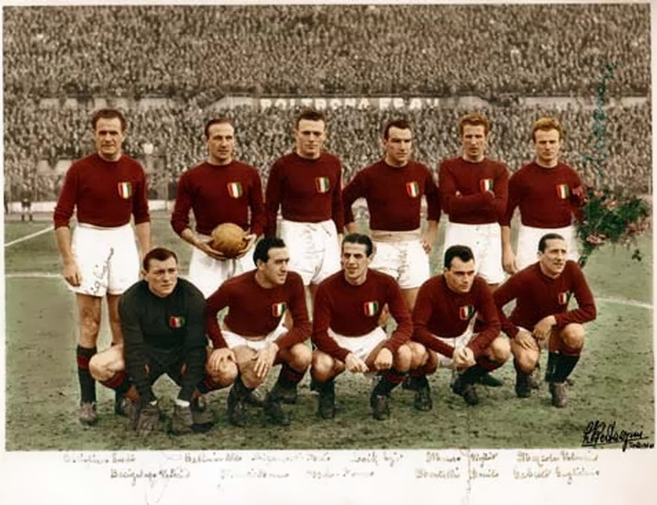 Gran Torino, 1948-49, Torino Calcio, Superga,