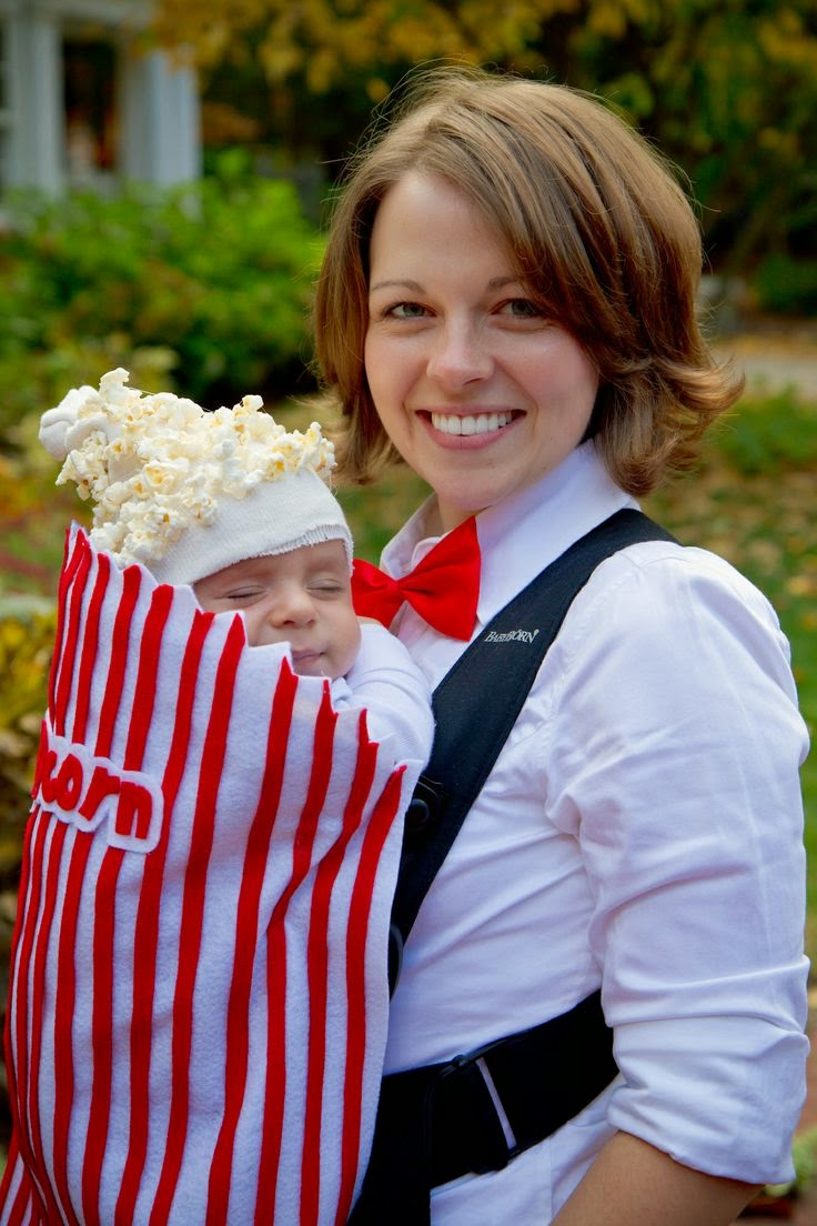 Mother and Baby DIY Halloween Costume