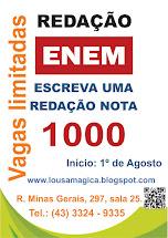 CURSO DE REDAÇÃO ENEM- 2015