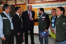 Directivas AFSAG y CONAF con el Sr.Ministro de Agricultura
