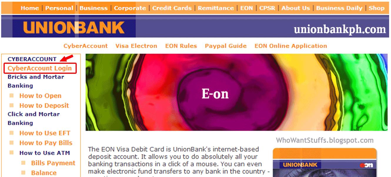 EON CyberAccount Login