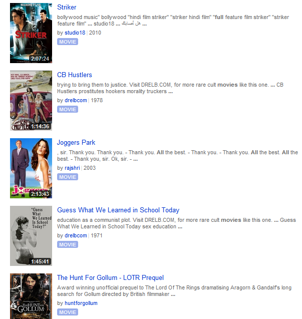 Watch Free Movies Online - Full Movies - Yidio