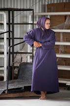 Barefoot Amish Women and Girls