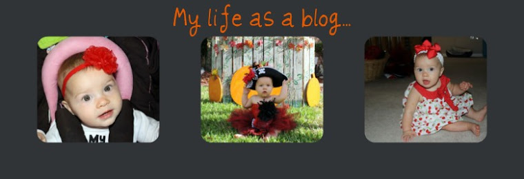 My life as a blog...