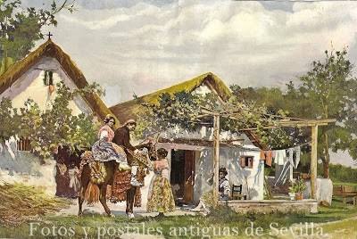 Fotos y postales antiguas de sevilla fotos antiguas de for Fotos antiguas de valencia