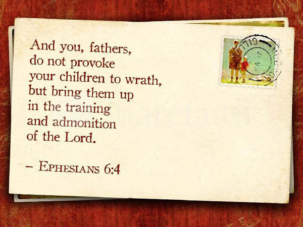 Spiritual Bible Verses for Father's Day
