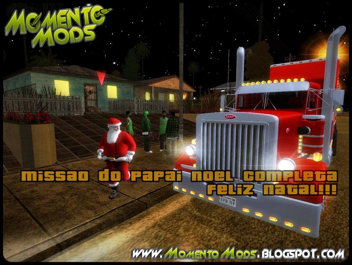 GTA SA - Mod Missão De Natal
