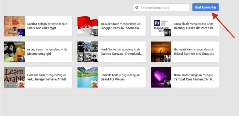 Cara Bikin Komunitas Google Plus dengan Mudah