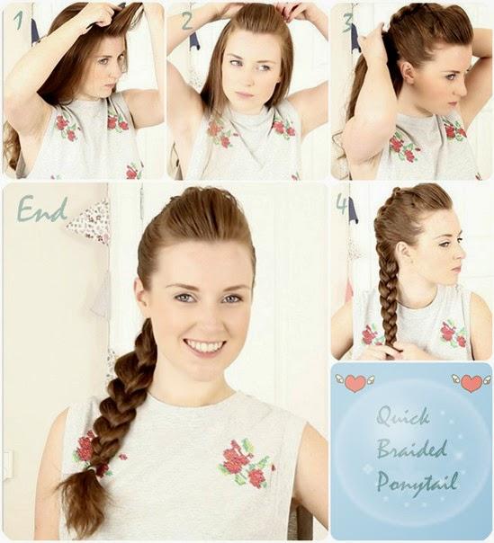 Itu dia beberapa picture tutorial gaya rambut yang bisa kita gunakan
