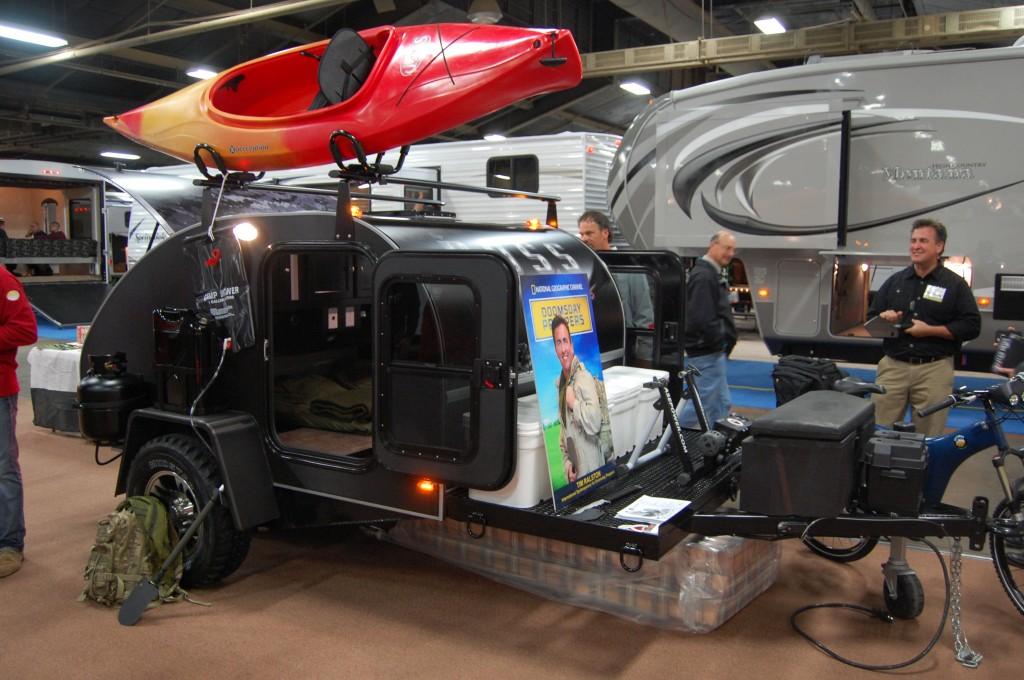 Bug Out Van Interior : Homemade bug out trailer car interior design