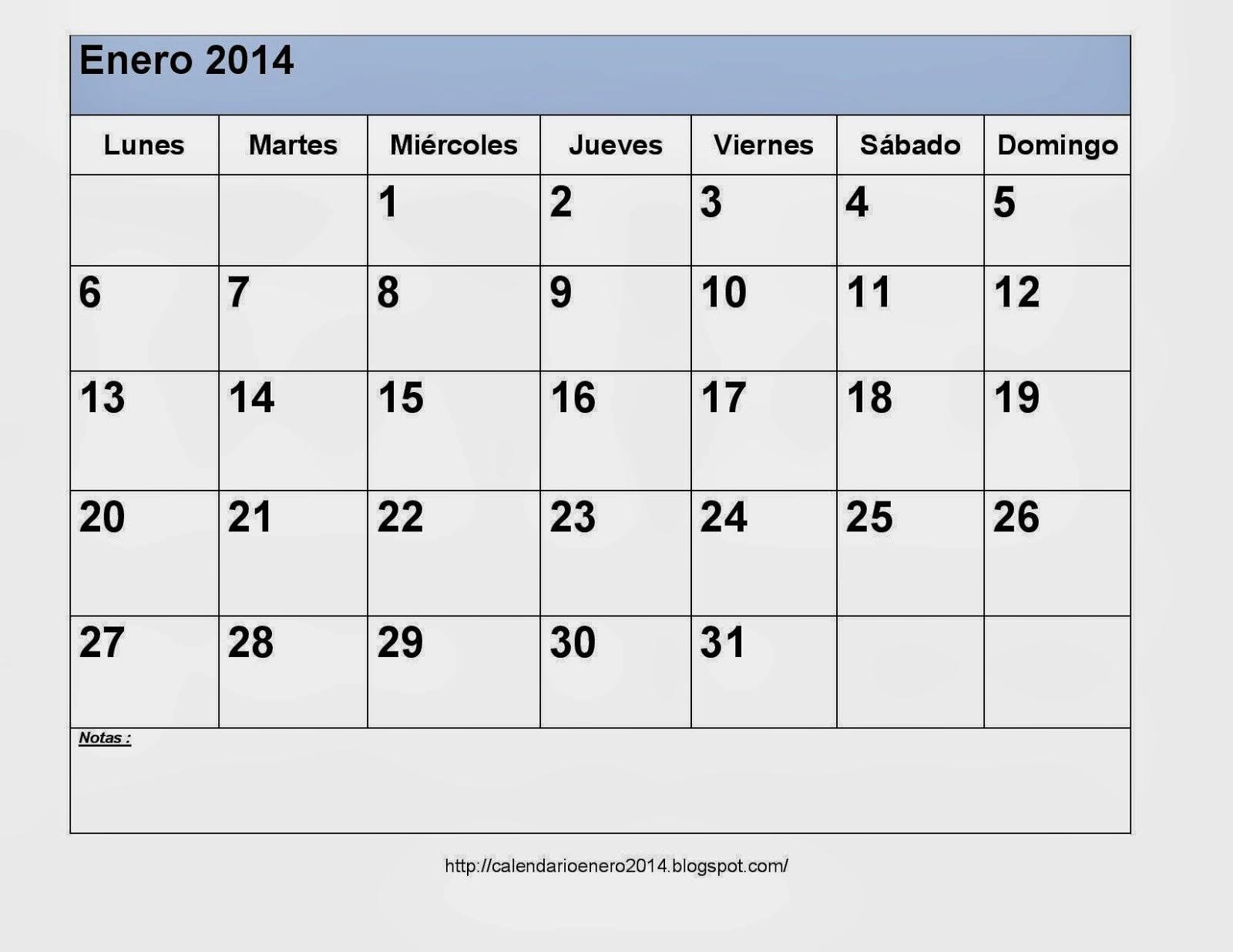 imprimir calendario 2015