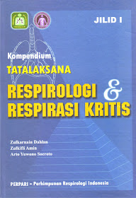 Buku: Kompendium Tatalaksana Respirologi & Respirasi Kritis Jilid  I & II