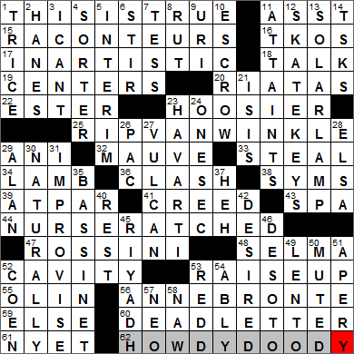WEB's New York Times Crossword Solution @ NYTCrossword.com: 0504-13 .