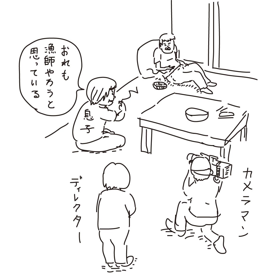 山本 さん 大間