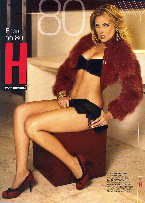 "Revista H Aracely Arambula Aracely en ""h para hombres"""